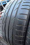 Шины б/у 255/40 R19 Bridgestone Potenza S001, ЛЕТО, пара, 5мм, фото 8