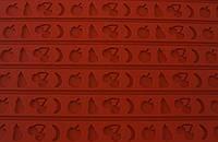 Лист силиконовый для бордюра фрукты Martellato RELIEF8 60х40 мм