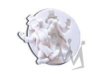 Форма для марципана клоун Silikomart SLK011 6,5х5,5 см