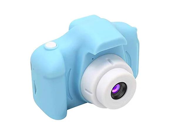Дитячий фотоапарат GM14 блакитний