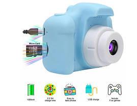 Детский фотоаппарат GM14 голубой, фото 2
