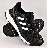 Кроссовки Adidas Energy Boost Чёрные Мужские Адидас (размеры 42, 43, 44)