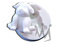 Форма для марципана собака Silikomart SLK020 6х5,8 см
