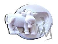 Форма для марципана коровка Silikomart SLK029 5,7х7,5 см