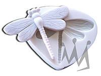 Форма для марципана стрекоза Silikomart SLK031 7,4х9,6 см