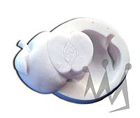 Форма для марципана яблоко Silikomart SLK057 4,6х6,3 см