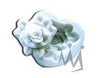 Форма для марципана роза Silikomart SLK066 4,2х4,9 см