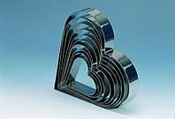 Форма для торта сердце Martellato 7H4X10 11,5х11,5 см