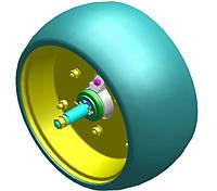 Шина, бандаж на колесо прикатывающее посевной секции сеялки СУПН Н 041.09.000, фото 1