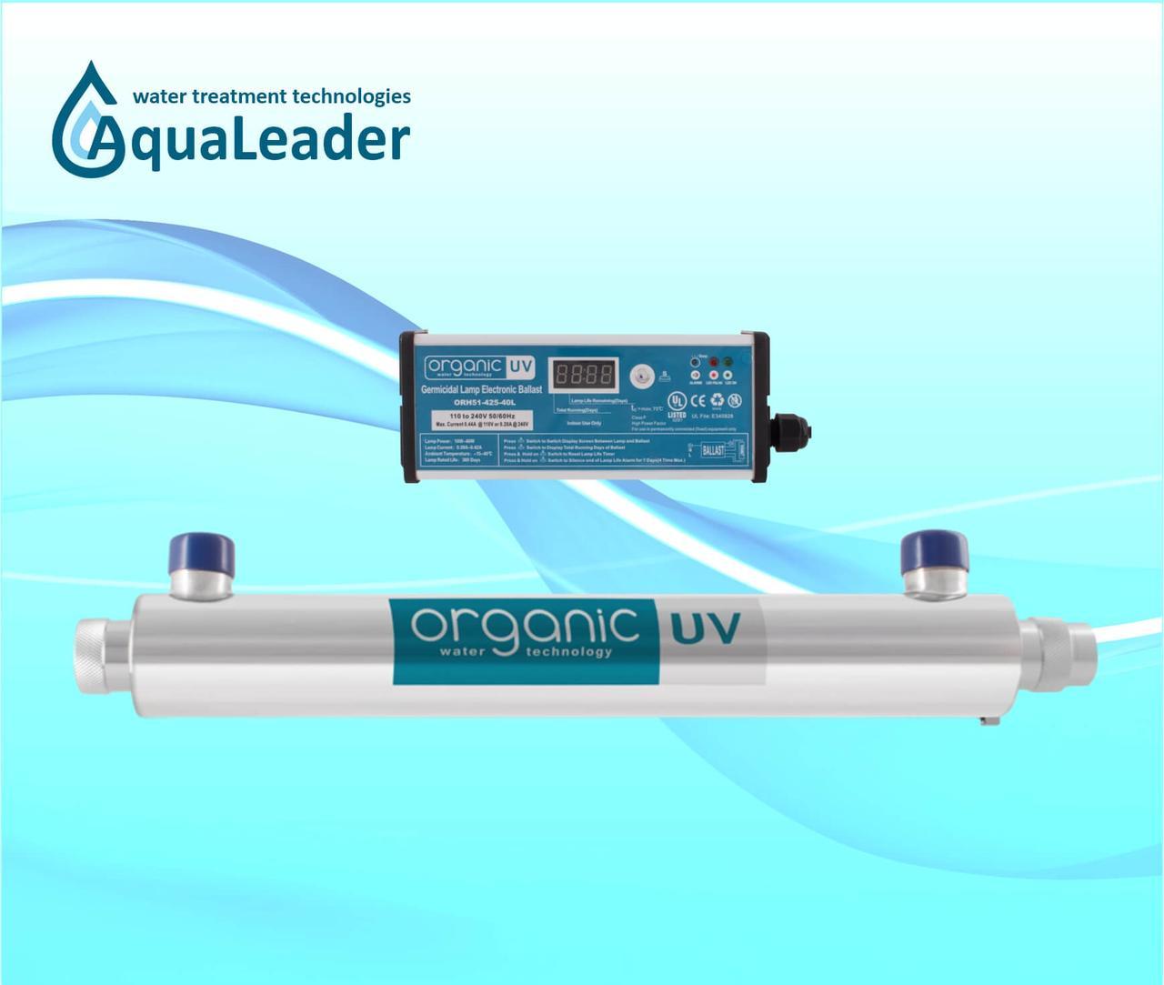 Система ультрафіолетового знезараження Organic 6S