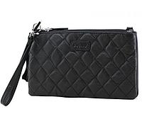 Женская кожаная сумка cross-body Buono, черного цвета