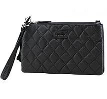 Жіноча шкіряна сумка cross-body Buono, чорного кольору