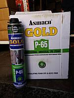 Универсальная профессиональная монтажная пена Asmaco Gold P-65