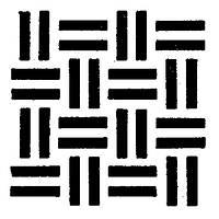 Трафарет для торта шахматка Martellato MASK19 26 см