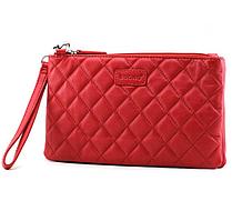 Жіноча шкіряна сумка cross-body Buono, червоного кольору