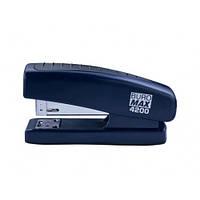 Степлер BUROMAX (скоба №24 26) 4200-02 20арк. пластик синий (1/12)