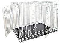 Клетка для собак Croci. Металлическая (оцинковка) 2 двери 109*71*79 см