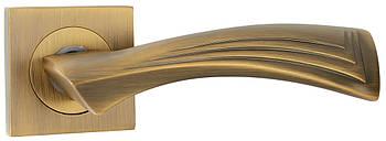 Ручка дверна на розетці SIBA Ibiza, матове кави
