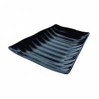 Блюдо меламиновое черное Dalebrook TB90553 259х247х38 мм