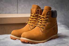 Зимние мужские ботинки 30651, Timberland 6 Premium Boot, рыжие ( 40  )