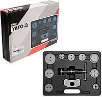 Комплект для обслуживания тормозных цилиндров 11 ед. YT-0681