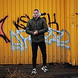 Мужская весеннняя куртка Asos (khaki), мужская стеганая куртка хаки, фото 2