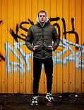 Мужская весеннняя куртка Asos (khaki), мужская стеганая куртка хаки, фото 3