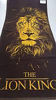 Полотенце махровое банное размер  67х150 Король лев