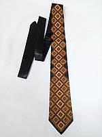 "Краватка ""Коричневий орнамент"""