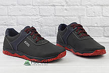 Чоловічі кросівки червона підошва, фото 2