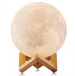 Ночник Moon Touch Control 3D светильник луна 5 режимов 15 см