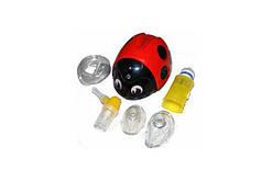 Ингалятор компрессорный (небулайзер) Lella la Coccinella красный