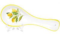 Подставка под ложку керамическая 24см Сочные лимоны BonaDi DM8075-Y