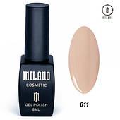 Гель - лак MILANO 8 мл №011