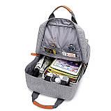 Рюкзак міський чоловічий. Чоловічий рюкзак сумка для ноутбука, фото 10