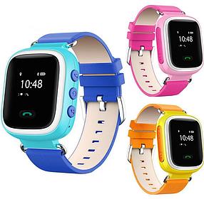 Дитячі розумні GPS годинник Smart Baby Watch Q60 з трекером відстеження кольоровий екран