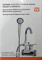 Проточный водонагреватель с душем DL17