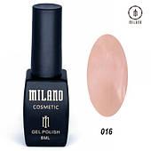 Гель - лак MILANO 8 мл №016