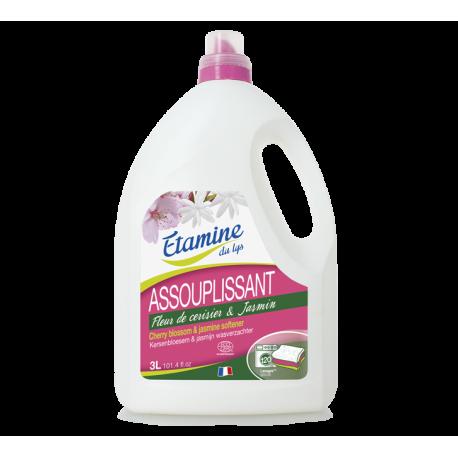 """Кондиционер для белья """"Цветок вишни и жасмин"""" органический Etamine du lys,3л"""