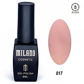 Гель - лак MILANO 8 мл №017