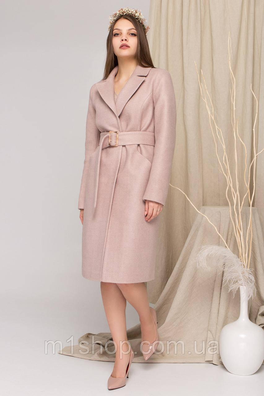 пальто демисезонное женское Modus Кареро 8773