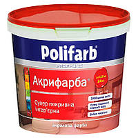 Краска акрикраска, Polifarb  7 кг