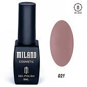 Гель - лак MILANO 8 мл №021