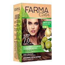 Крем - краска для волос без аммиака Farmasi Farma Color Турция / Far - 7090235 7.0 русый