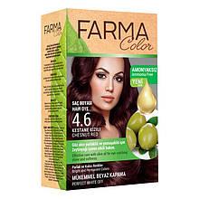 Крем - краска для волос без аммиака Farmasi Farma Color Турция / Far - 7090235 4.6 красный каштан