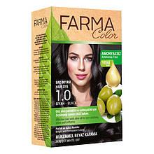Крем - краска для волос без аммиака Farmasi Farma Color Турция / Far - 7090235 1.0 черный