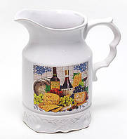 Кувшин керамический 1500мл Cheese&Wine BonaDi DU877-W
