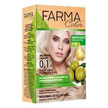 Крем - краска для волос без аммиака Farmasi Farma Color Турция / Far - 7090235 0.1 Платиновий блонд