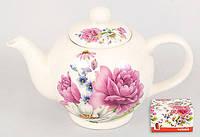 Чайник керамический Пион, 1л BonaDi 23-PY488