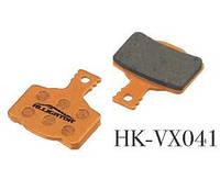 Колодки Alligator VX041 для Magura MT2/MT4/MT6/MT8 органика